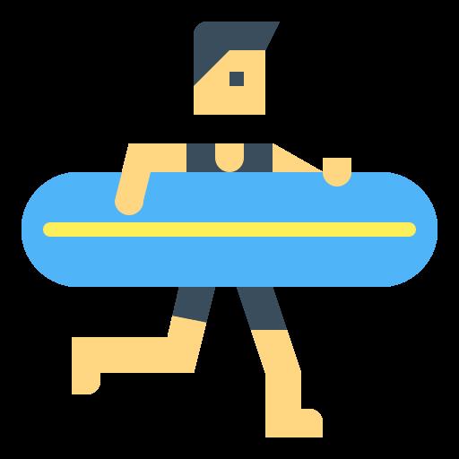 bild på en surfbräda